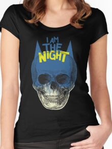 I Am The Night Women's Fitted Scoop T-Shirt