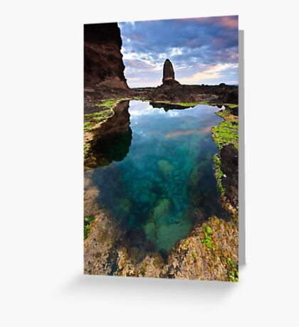 Pulpit Pool Greeting Card
