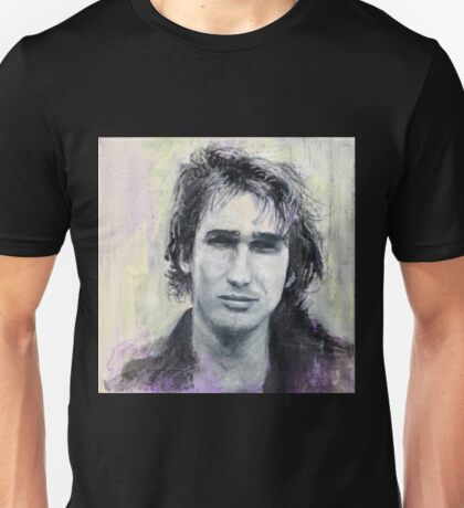 Jeff Buckley Portrait by William Wright Unisex T-Shirt