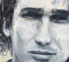 Jeff Buckley Portrait by William Wright Sticker