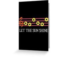 Sun Song Greeting Card