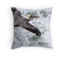 Soaring Above The Seas.... Throw Pillow