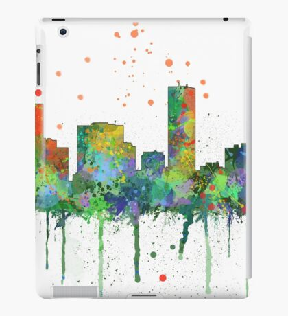 Denver, Colorado Skyline iPad Case/Skin