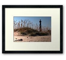 """''The Big Barber Pole"""" Framed Print"""