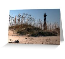 "''The Big Barber Pole"" Greeting Card"