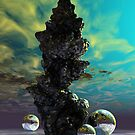 Crystal Tower by Sandra Bauser Digital Art