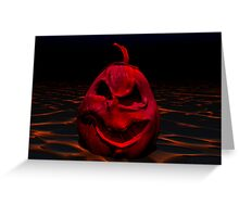 Jack in Hell Greeting Card