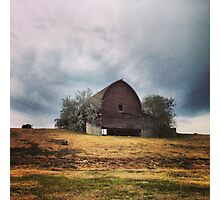Hilltop Barn Photographic Print