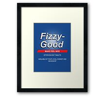 Fizzy make feel good Framed Print