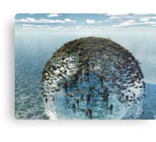 Eco-Sphere Metal Print