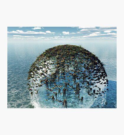 Eco-Sphere Photographic Print