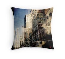 the walk of babel Throw Pillow