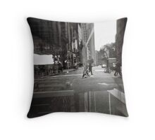 if the world is an oyster Throw Pillow