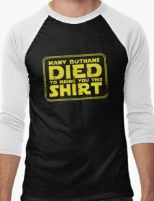 Many Bothans died bring you this shirt Men's Baseball ¾ T-Shirt