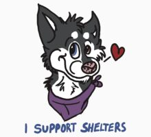 I Support Animal Shelters by jerrymojo2
