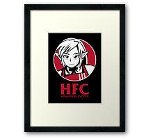 Hyrule fried Cuccos Framed Print