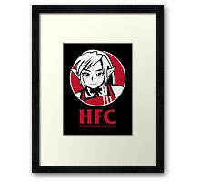 Hyrule fried Cuccos Framed Print
