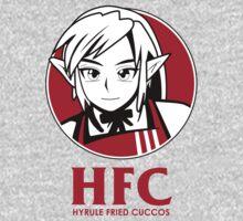 Hyrule fried Cuccos One Piece - Short Sleeve
