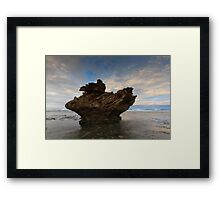 And Upon This Rock Framed Print