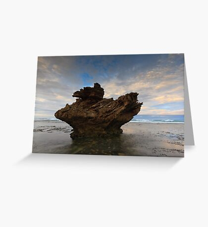 And Upon This Rock Greeting Card