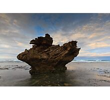 And Upon This Rock Photographic Print