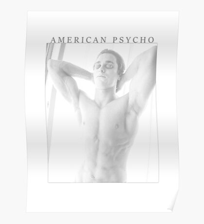 American Psycho White Poster