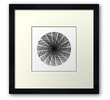 Line-O-Graph Framed Print