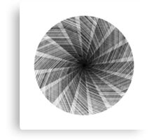 Line-O-Graph Canvas Print