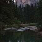 Sunset on Half Dome by Anne McKinnell