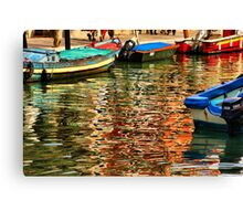 Colors of Murano Canvas Print
