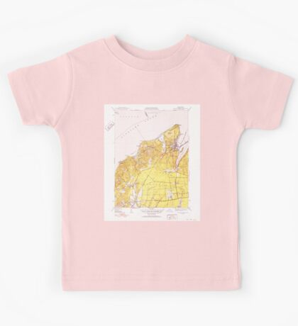 Massachusetts  USGS Historical Topo Map MA Vineyard Haven 352286 1951 31680 Kids Tee