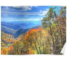 Great Smoky Mountain Fall Poster