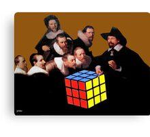 Rembrandts Rubik Canvas Print