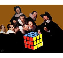 Rembrandts Rubik Photographic Print