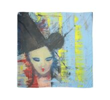 Bjork - Painting by William Wright Scarf