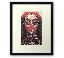 SELF ✖ INFLICTED Framed Print