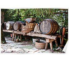 Wine Making Poster