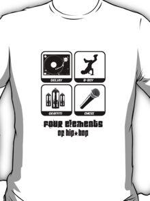 Four Elements of Hip-Hop T-Shirt