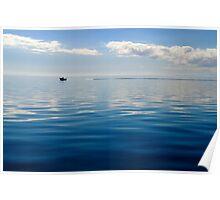 Serenity on Moreton Bay Poster