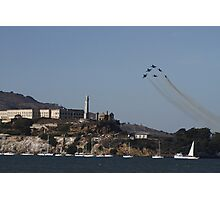 The Rock - Blue Angels Style Photographic Print
