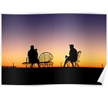 Pondering Pair | Hay NSW Poster