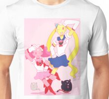 On the Moon There's a Candy Kingdom Unisex T-Shirt