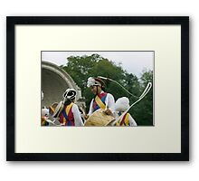 Korean Dancers, Central Park, NYC Framed Print