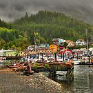 Picturesque Ketchikan by zumi
