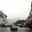 Norwegian Star in Ketchikan by zumi