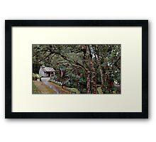 Bath House at Waldheim, Cradle Mountain Framed Print