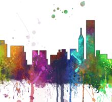 Chicago, Illinois Skyline Sticker