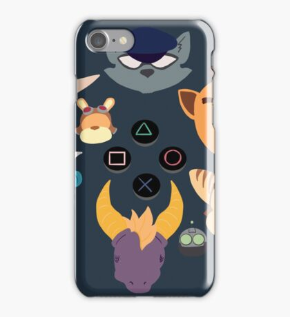 Sony Mascots iPhone Case/Skin