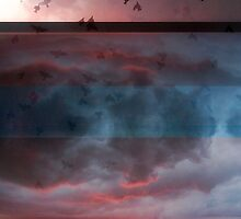 Composition With Abstracted Sky and Birds – October 9, 2010 by Ivana Redwine