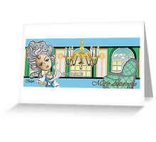 Bad Day Historical Series 1: Marie Antoinette Greeting Card